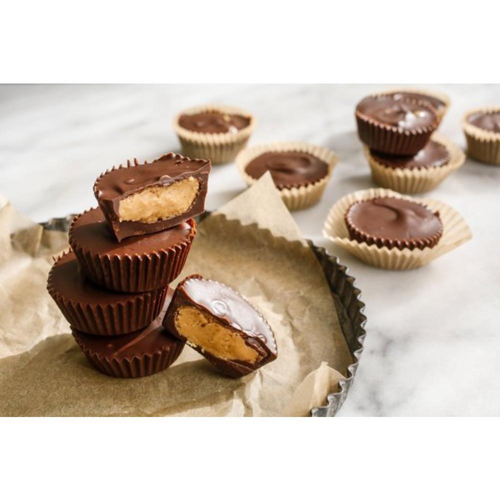 Σοκολατάκια με Φυστικοβούτυρο & Καραμέλα
