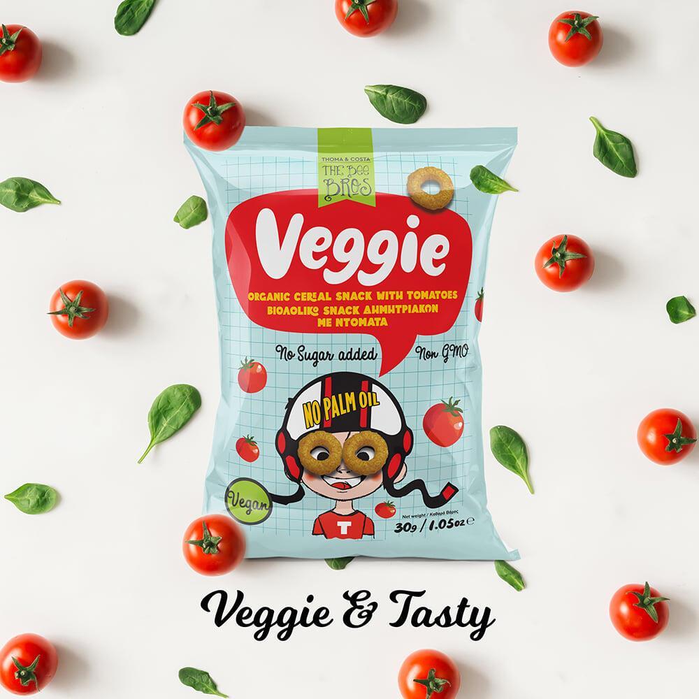 Veggie Δημητριακά με Ντομάτα 30gr