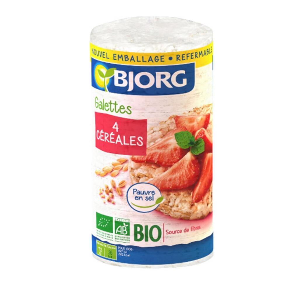 Ρυζογκοφρέτες 4 Δημητριακών (130γρ)
