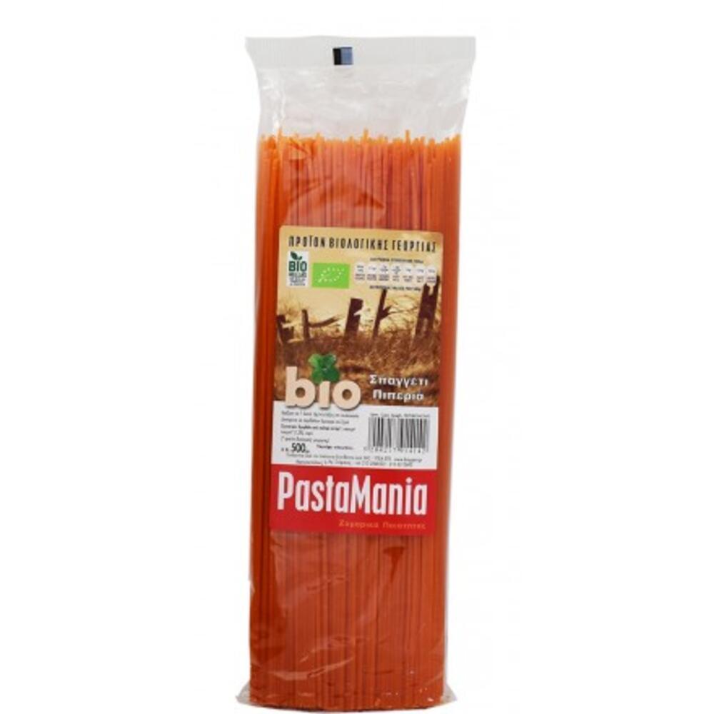 Σπαγγέτι Πιπεριά ΒΙΟ 500γρ