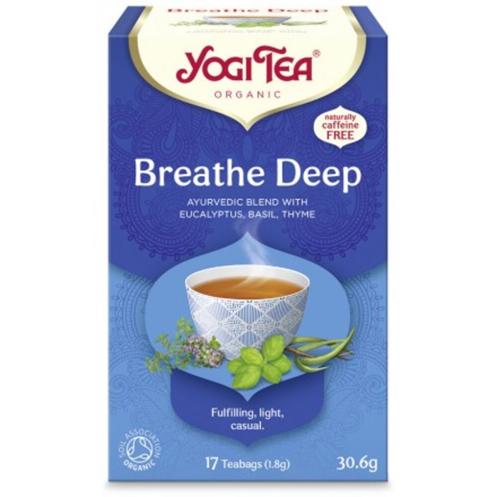 YOGI TEA BREATH DEEP  ΒΙΟ 30,6ΓΡ