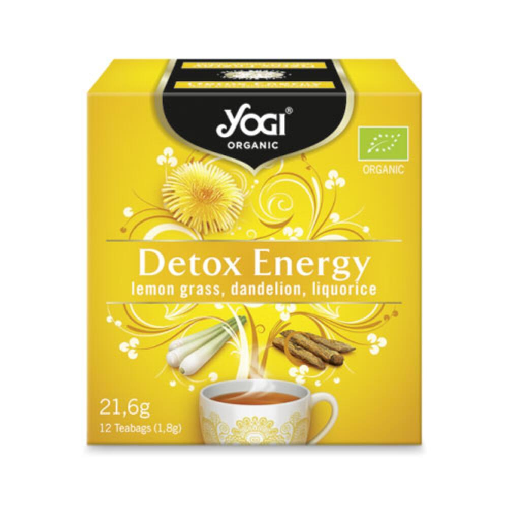 YOGI TEA DETOX ENERGY 21.6gr
