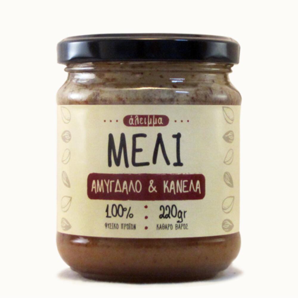 Άλειμμα με μέλι, αμύγδαλα & κανέλα Κεϋλάνης
