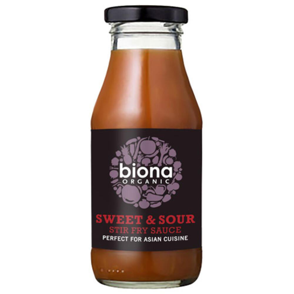 'Ετοιμη Γλυκόξινη Σάλτσα για Stir-Fry (240ml) Biona BIO