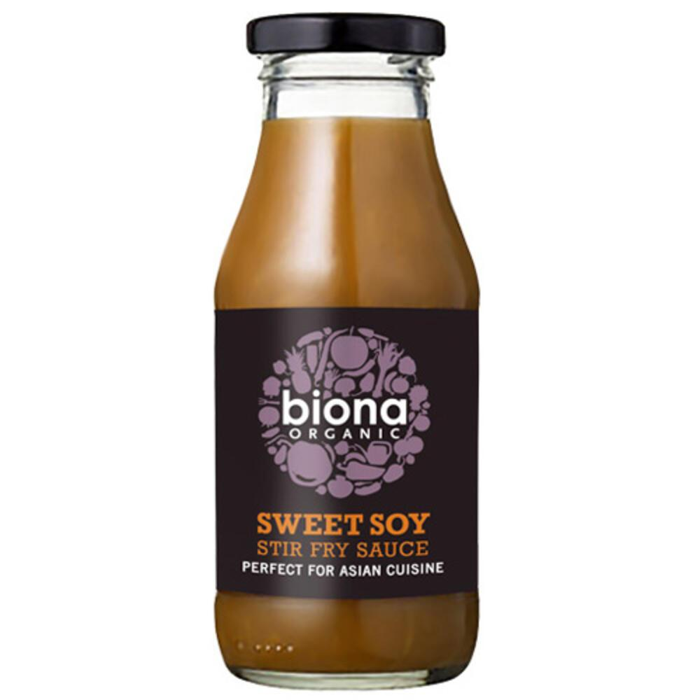 'Ετοιμη Γλυκιά Σάλτσας Σογιάς για Stir-Fry (240ml) Biona BIO
