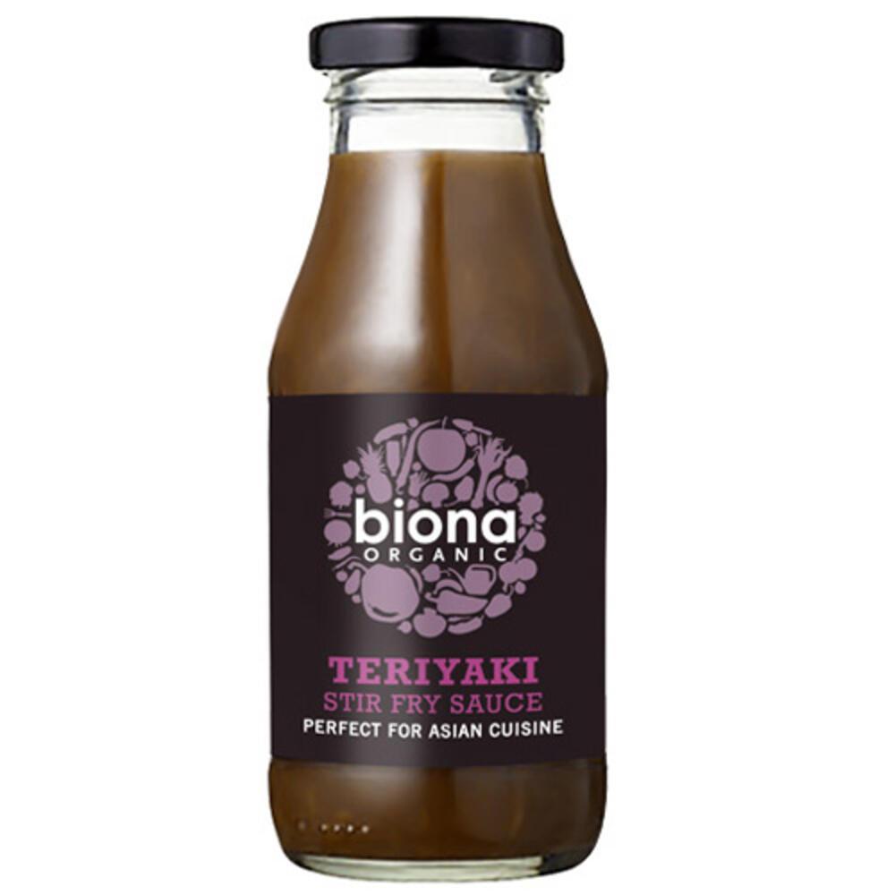 'Ετοιμη Σάλτσα Teriyaki για Stir-Fry (240ml) Biona BIO