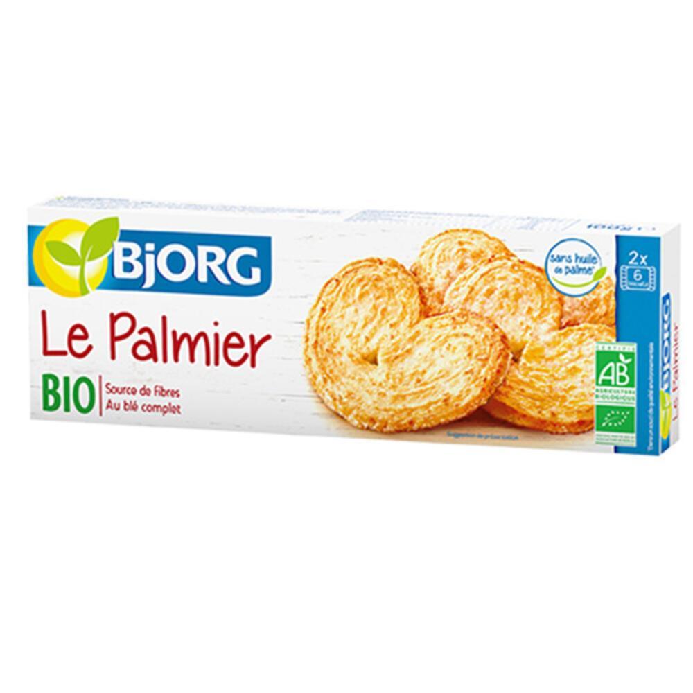 Μπισκότα Palmiers (100γρ) BJORG BIO