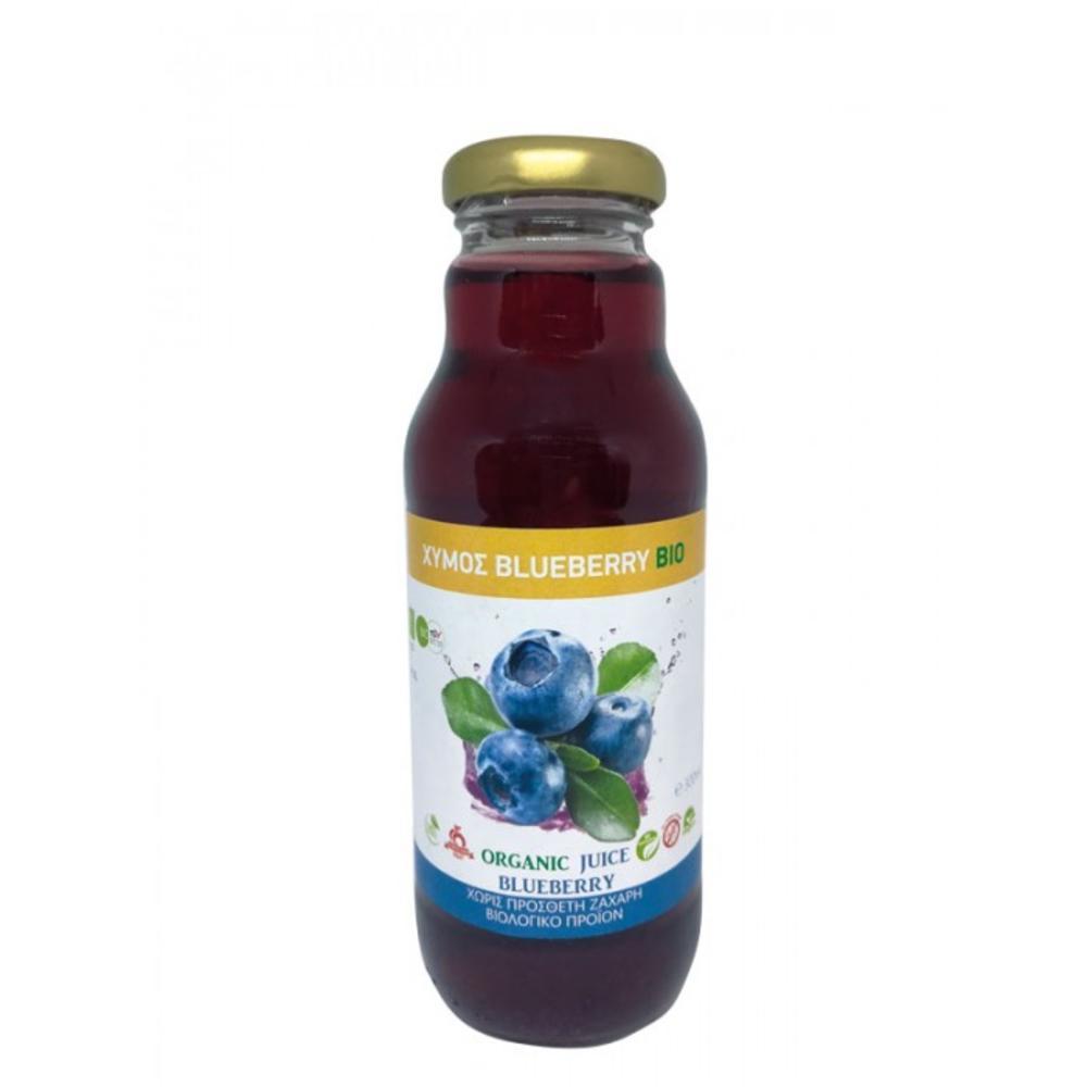 Χυμός Blueberry Organic Χωρίς Ζάχαρη 300ml
