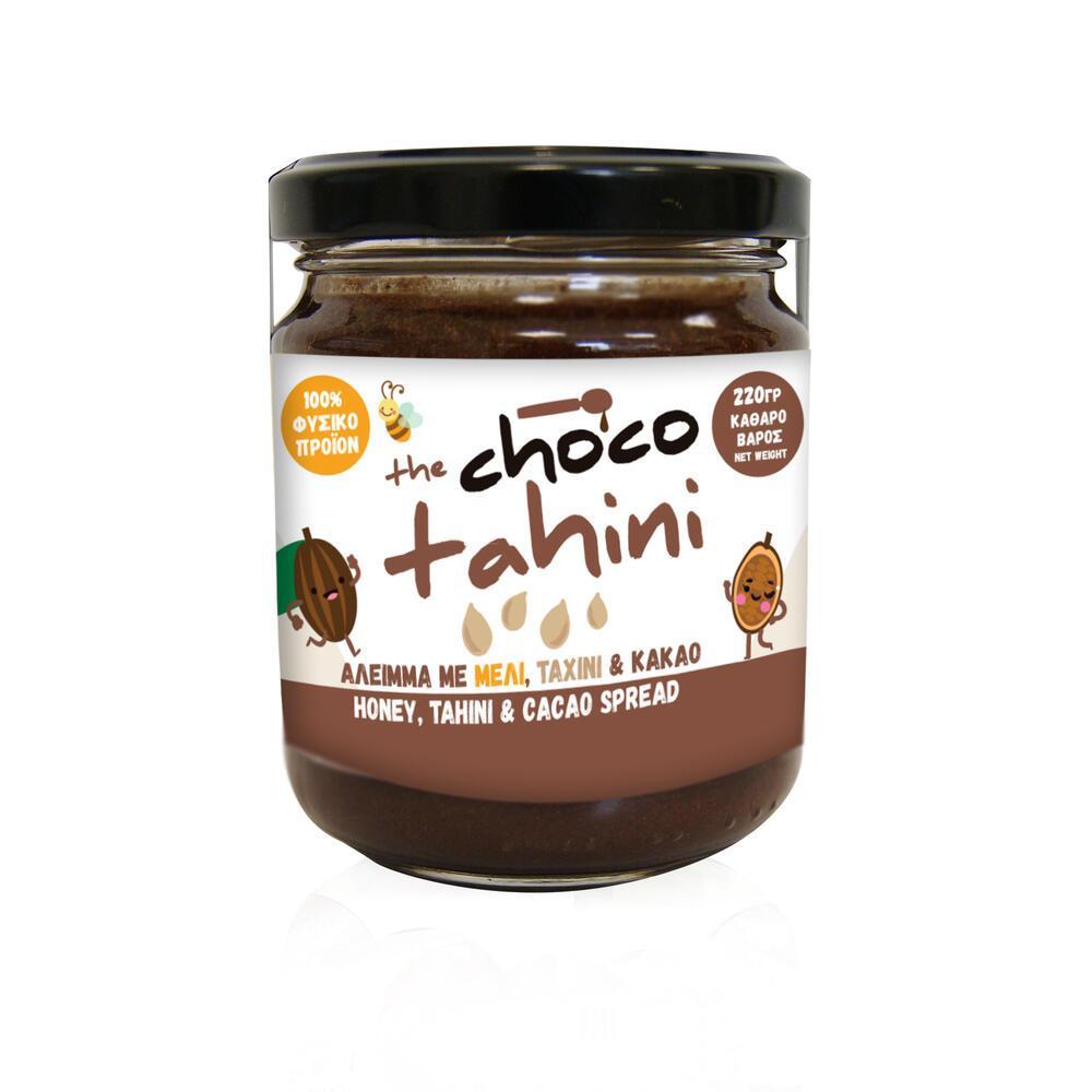 Μέλι με Ταχίνι & Κακάο 220γρ.