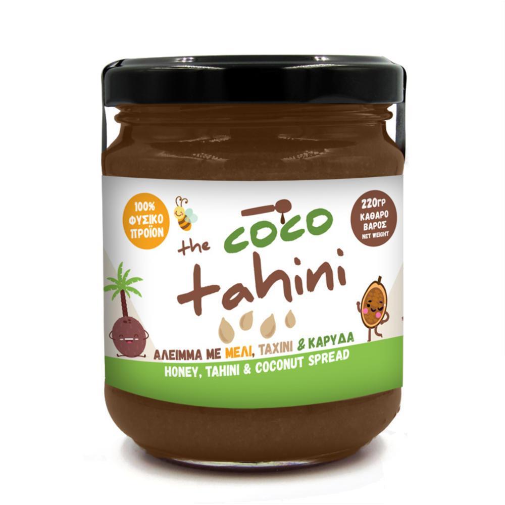 The coco tahini! Μέλι με καρύδα, ταχίνι & κακάο
