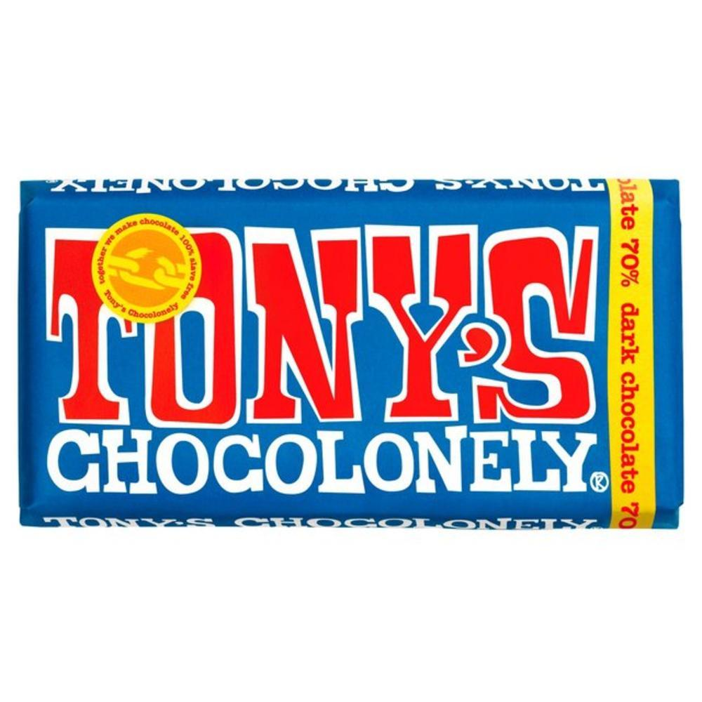 Tony's Chocolonely Dark Chocolate 70% 180g