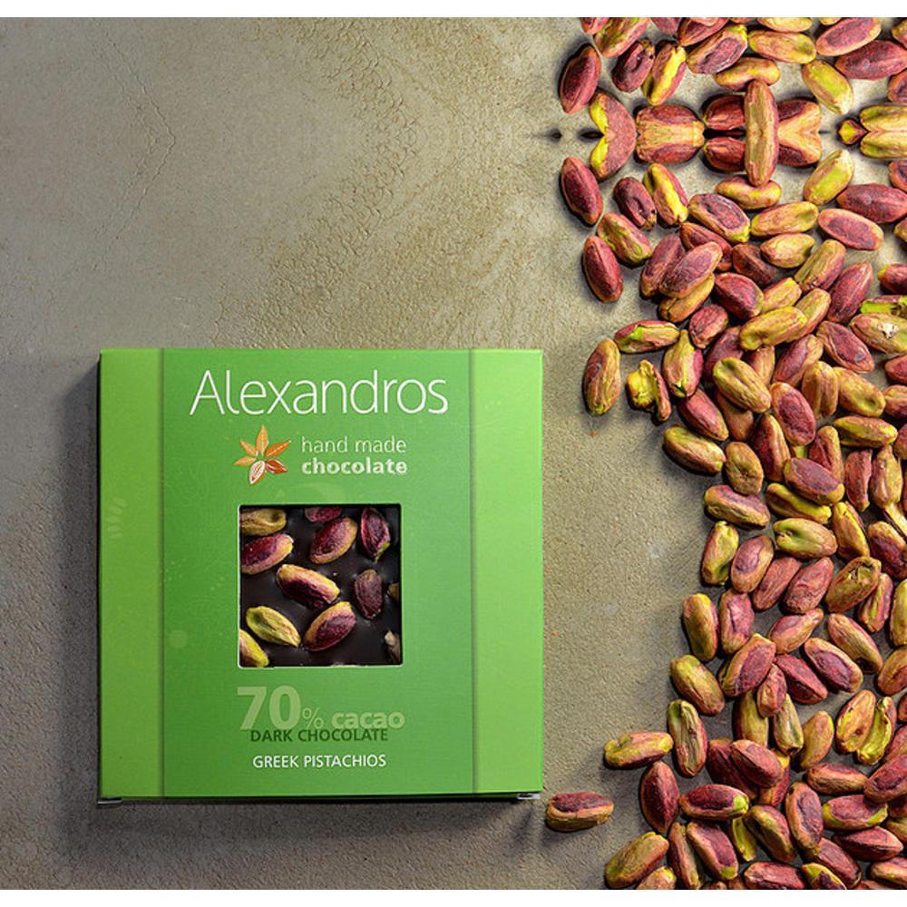 Σοκολάτα Υγείας με Ελληνικό Φυστίκι