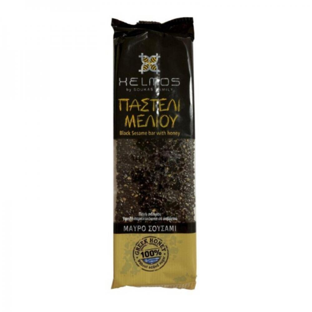 Παστέλι Μελιού με Μαύρο Σουσάμι 75γρ.