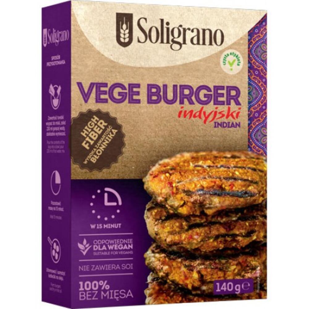 Burger vegan Ινδικό 140g