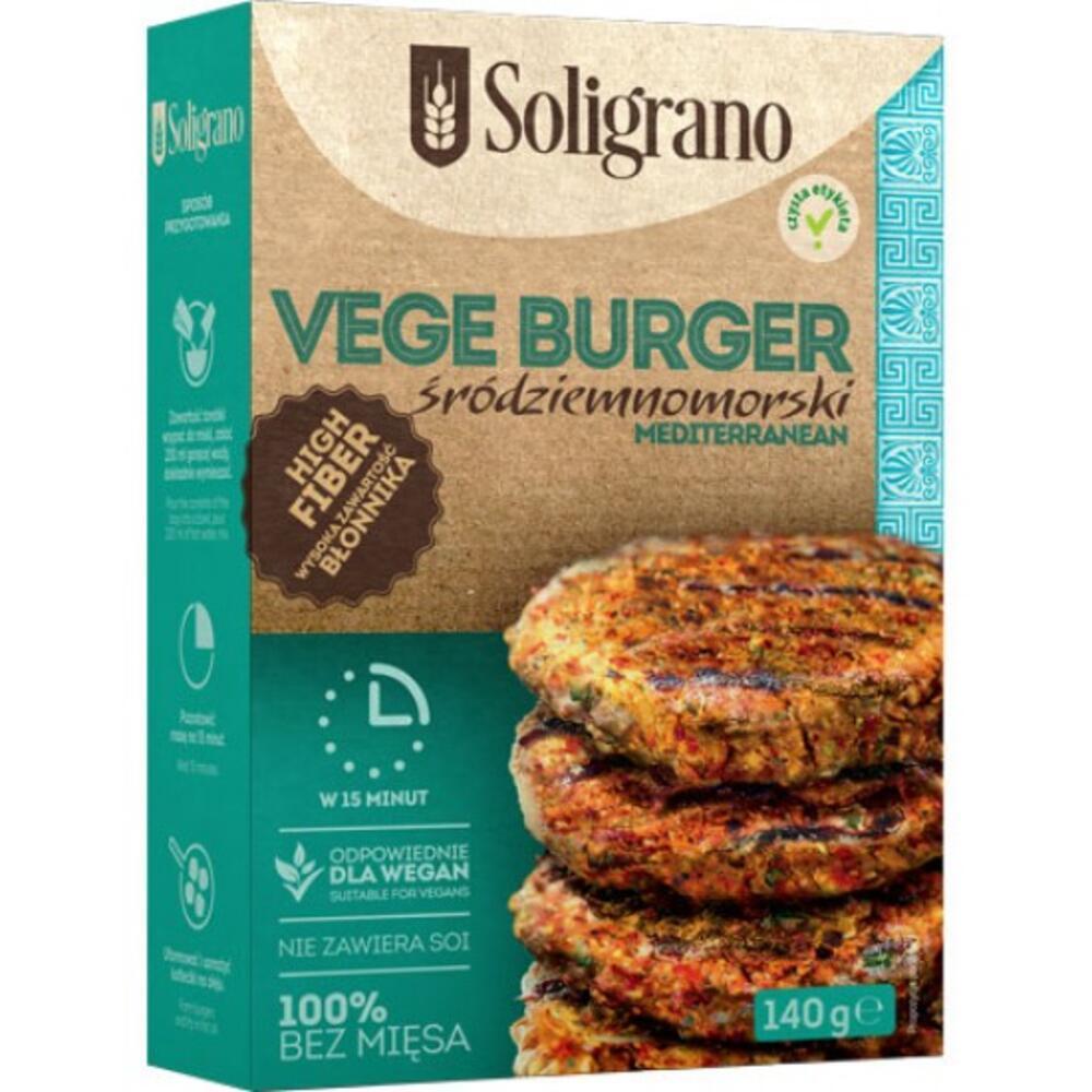 Burger vegan Μεσογειακό 140g