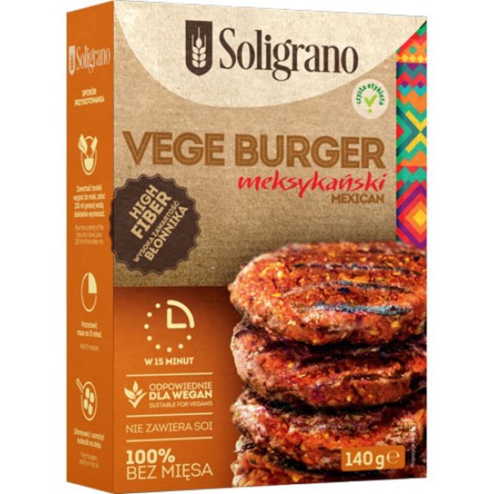Burger vegan Μεξικάνικο 140g