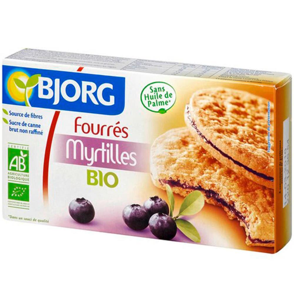 Bjorg BIO Μπισκότο ημιολικής με Μύρτιλλο 175gr.