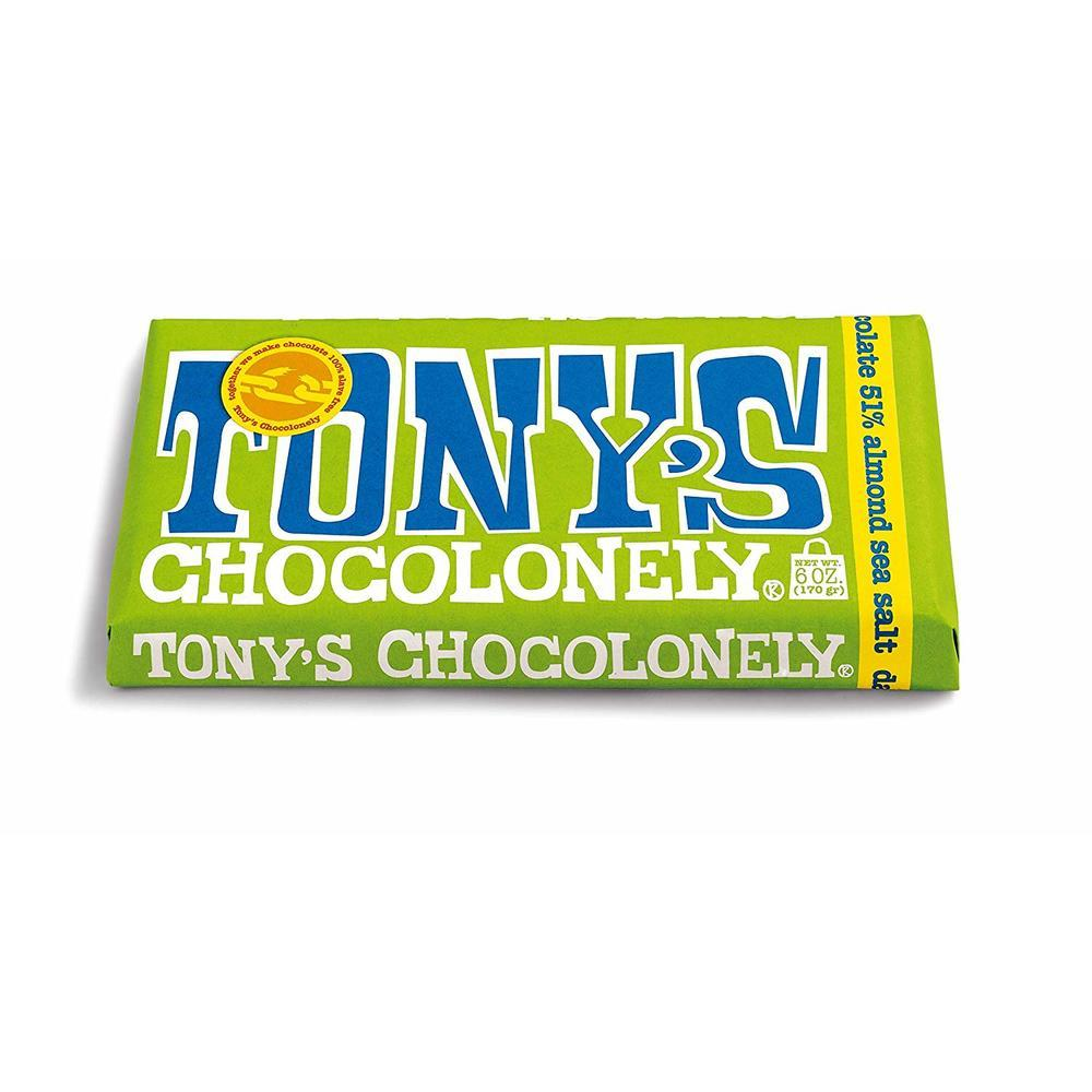 51% Sea Salt Almond Dark Chocolate 180gr.