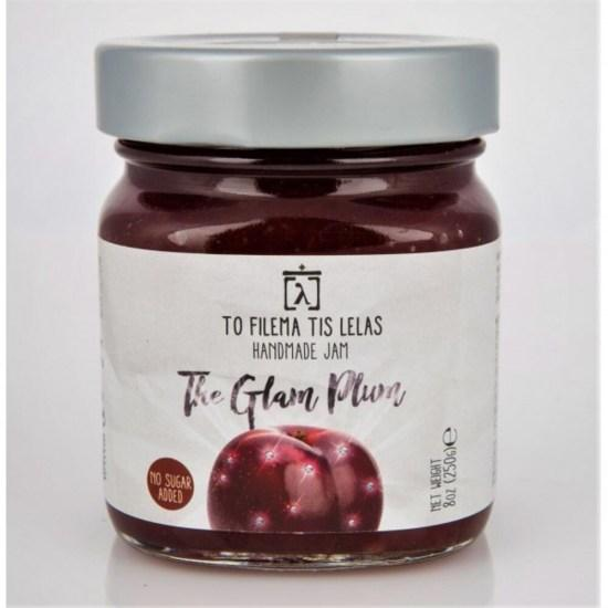 the-glam-plum-no-sugar-jam-to-filema-tis-lelas-240g