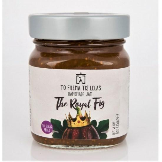 the-royal-fig-no-sugar-jam-to-filema-tis-lelas-240g